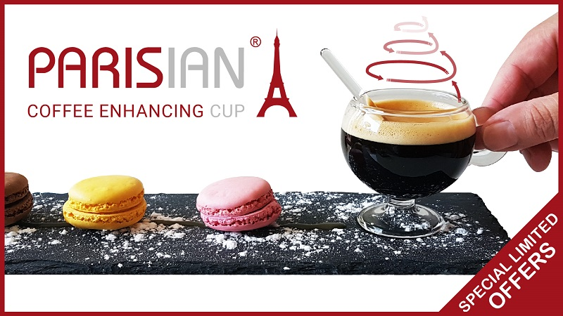 Parisian: The most innovative cup to enjoy your Espresso